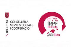 Conselleria Serveis Socials i Cooperació - 0'7% IRPF