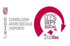 Conselleria Afers Socials i Esports - 0'7% IRPF