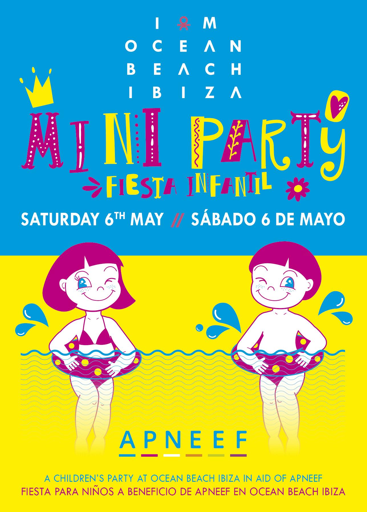 Fiesta infantil Ocean Miniparty 6 mayo 2017