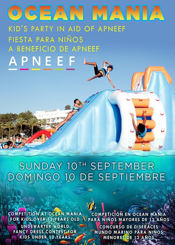 Fiesta Ocean Mania a beneficio de APNEEF
