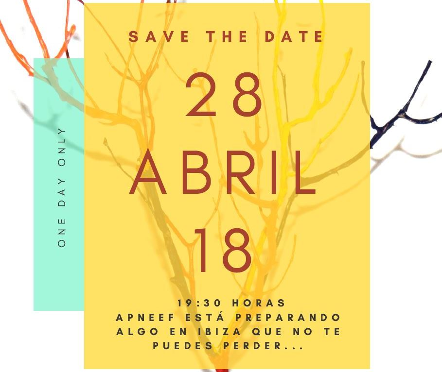 SAVE THE DATE - 28 ABRIL - PRONTO DESVELAREMOS MÁS DETALLES...