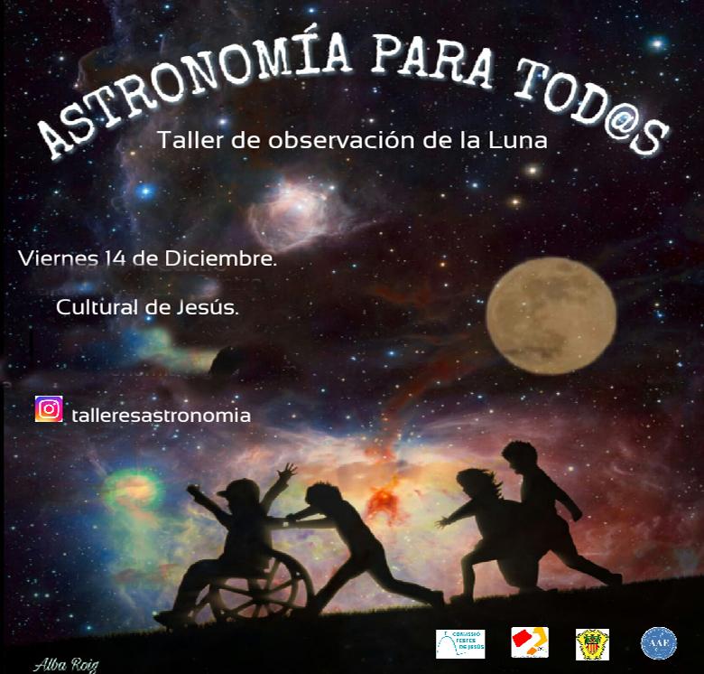 Salida de jóvenes: Taller de astronomía