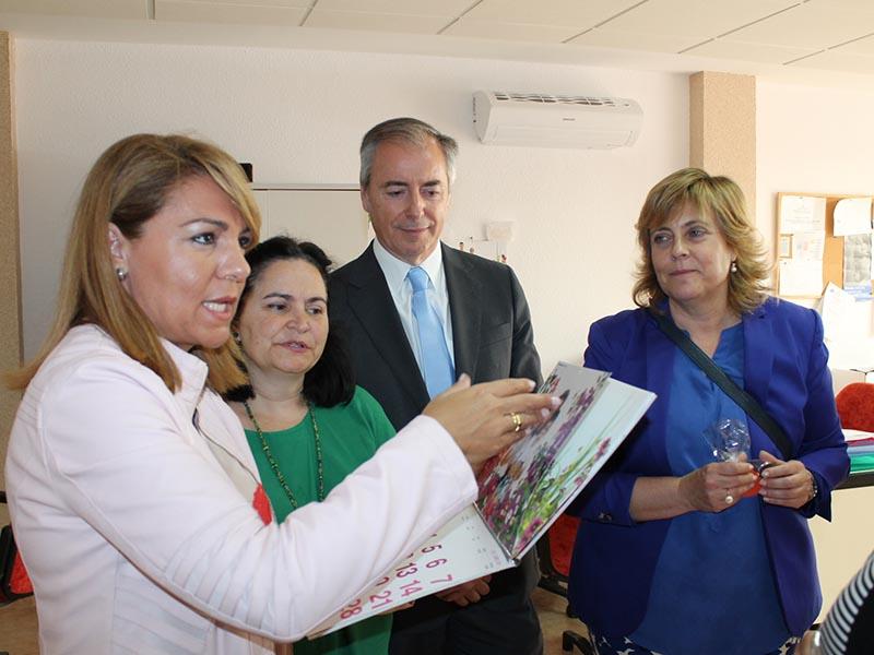 Visita a Apneef de la Secretaria de Estado de Servivios Sociales e Igualdad