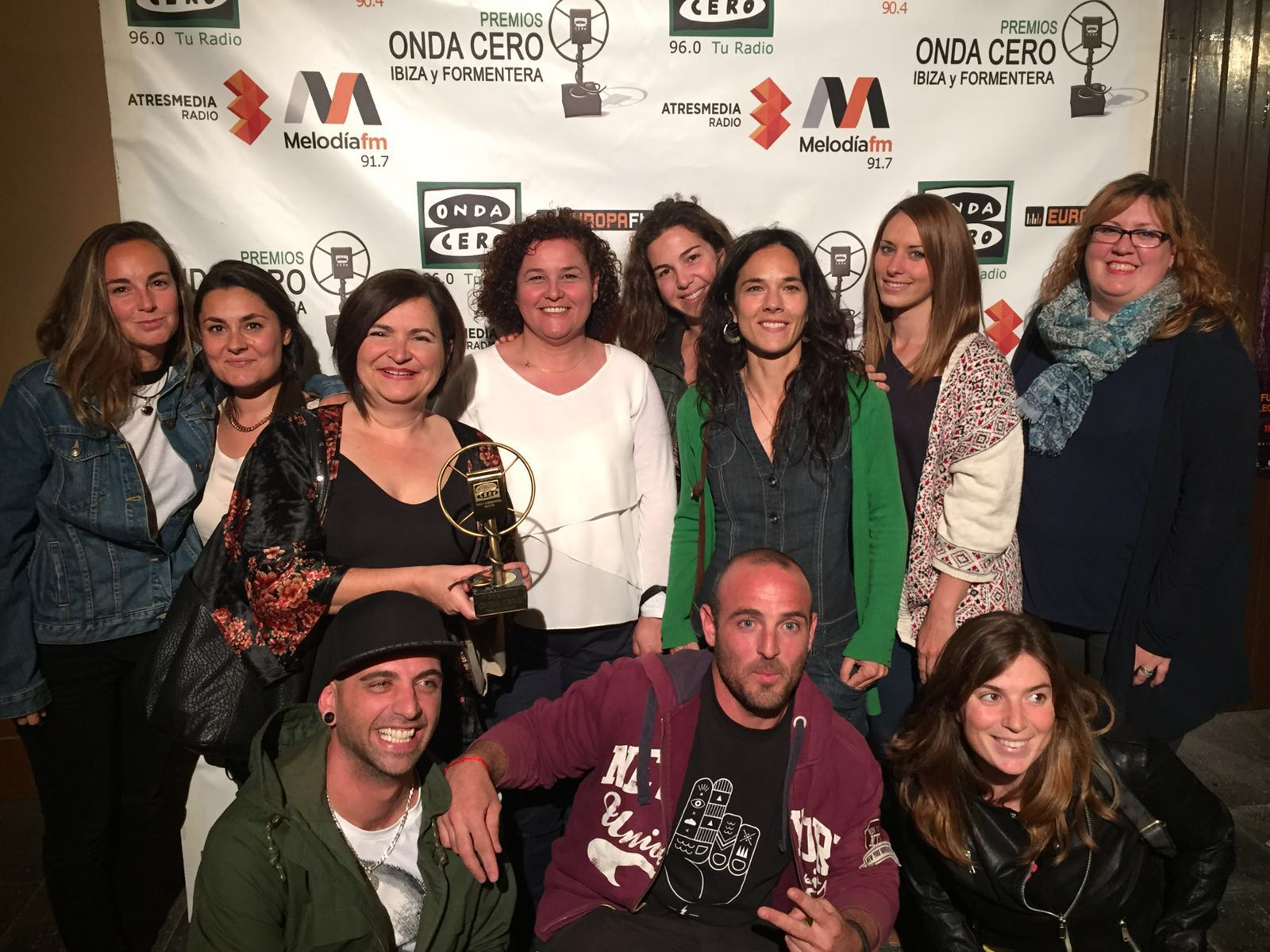 Apneef recoge el premio Onda Cero Solidaridad e Integración 2016